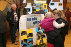 Ochotnická výstava v Olešnici